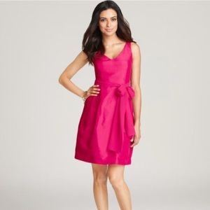 Ann Taylor Hypnotic Silk Dupioni Bridesmaid Dress